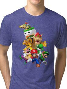 Mario 64 Tri-blend T-Shirt