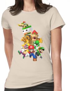 Mario 64 Womens Fitted T-Shirt