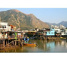 Tai O Fishing Village, Hong Kong Photographic Print