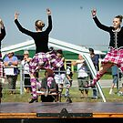 Highland Dancers by Peter Redmond