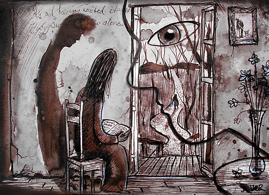 waiting by Loui  Jover