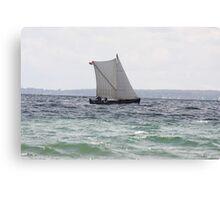 Danish Sail Canvas Print