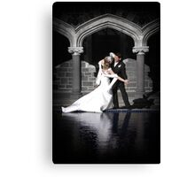Sarah & Dean Wedding Photography Canvas Print
