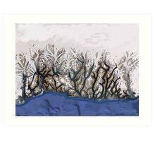 """""""Winter Reach"""" Art Print"""