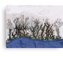 """""""Winter Reach"""" Canvas Print"""