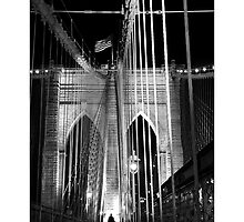 Brooklyn Bridge, New York by Eric Flamant