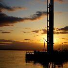 Seattle Waterfront Sunset by Rachel Montiel