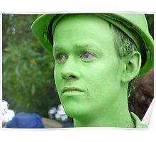 Little Boy Green Poster