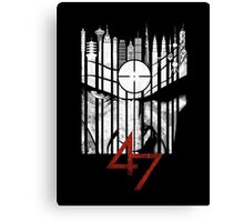 Hitman Codename 47 Canvas Print