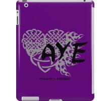 """Bloodlines Series """"AYE"""" Design iPad Case/Skin"""