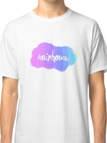 Simple and random Rainbow design. Classic T-Shirt