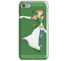 Zelda (Green) - Super Smash Bros. iPhone Case/Skin