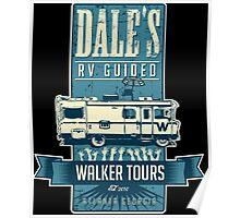 Dale's Walker Tours Poster
