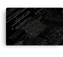 Dark Arts in the Machine 2 Canvas Print