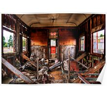 Train Carriage in HDR  Poster