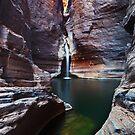 Knox Slide - Karijini N.P. Western Australia by Mark Shean