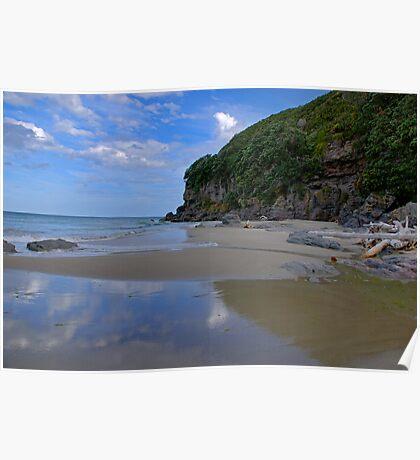 Coastal - Waihi Beach, Bowentown, New Zealand - A Touch of Paradise Poster