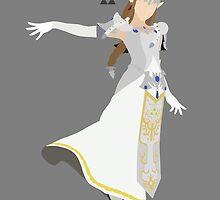 Zelda (White) - Super Smash Bros. by samaran