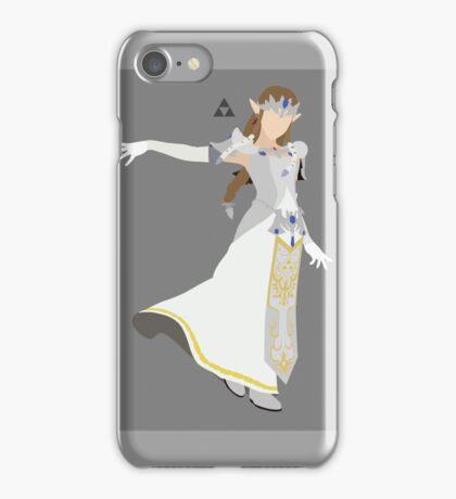 Zelda (White) - Super Smash Bros. iPhone Case/Skin