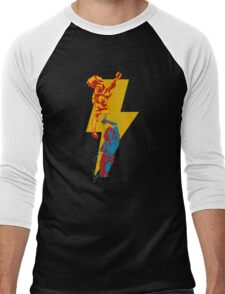 AC DC thunderbolt Men's Baseball ¾ T-Shirt