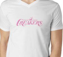 Wild Dog Creakers (Pinkalicious) Mens V-Neck T-Shirt