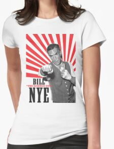 "Bill ""The Science Guy"" Nye Womens Fitted T-Shirt"