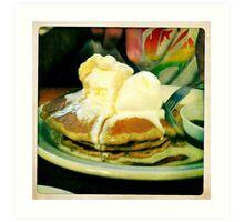 Buckwheat Pancakes Art Print