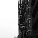 NEW YORK CHELSEA HOTEL by benj dawe
