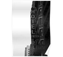 NEW YORK CHELSEA HOTEL Poster