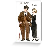 Mr. Bates-Anna Greeting Card