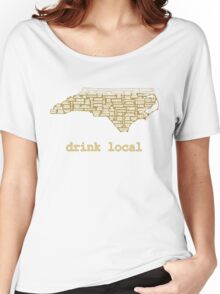 Drink Local - North Carolina Beer Shirt Women's Relaxed Fit T-Shirt