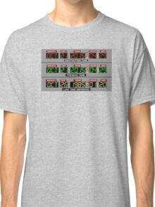 Back to the Future 2 Time Circuits 2015 Classic T-Shirt
