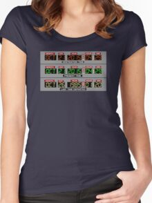 Back to the Future 2 Time Circuits 2015 Women's Fitted Scoop T-Shirt