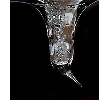 Icicle Photographic Print