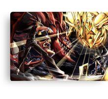 Yu-Gi-Oh! - Yugi Vs Marik Canvas Print