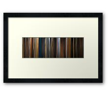 Moviebarcode: Apocalypse Now (1979) Framed Print