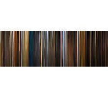 Moviebarcode: Apocalypse Now (1979) Photographic Print