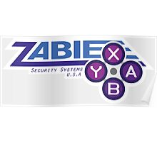 ZABIE Security Systems - USA Poster