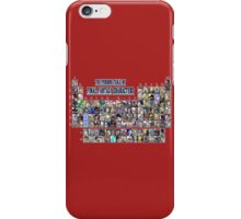 The periodic table of Final Fantasy Characters iPhone Case/Skin