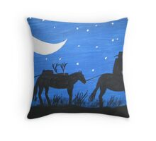 After The Hunt. Throw Pillow