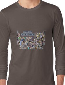 The periodic table of Final Fantasy Characters Long Sleeve T-Shirt