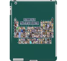 The periodic table of Final Fantasy Characters iPad Case/Skin