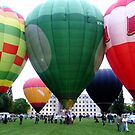 Two's Company, Three's A Crowd at the Balloon Festival by TonyCrehan