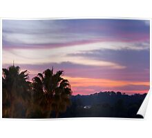 Tropical Morning Sky Poster