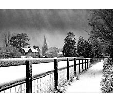 Whitchurch Winter Photographic Print