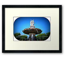 Lovely Fountain  Framed Print