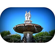 Lovely Fountain  Photographic Print