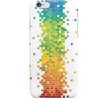 Pixel Rainbow iPhone Case/Skin