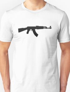 AK-47 BLACK LOGO T-Shirt