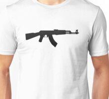 AK-47 BLACK LOGO Unisex T-Shirt